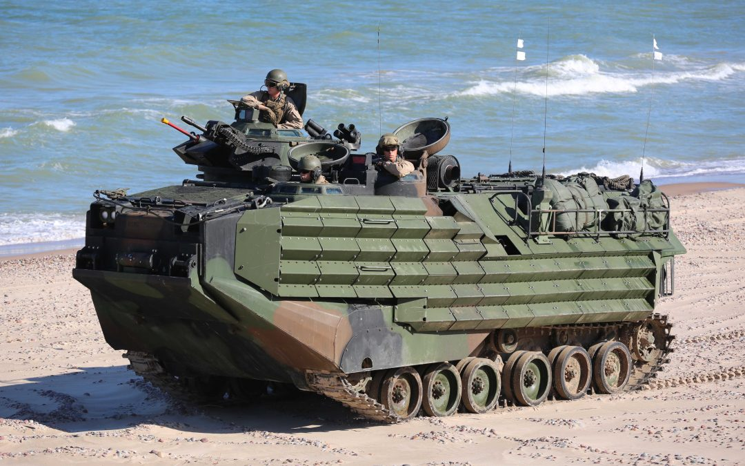 3D Printing Replacement Parts For The Marines Corps' Amphibious Assault Vehicles
